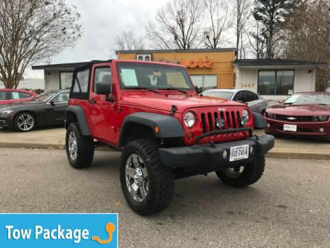 Pre-Owned 2013 Jeep Wrangler Freedom Edition