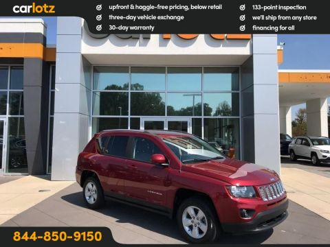2016 Jeep Compass Latitude FWD FWD 4dr