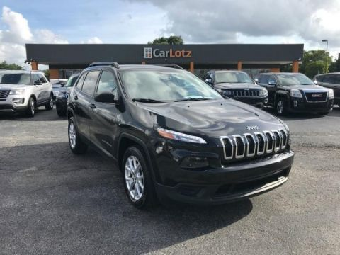 2016 Jeep Cherokee Sport FWD FWD 4dr