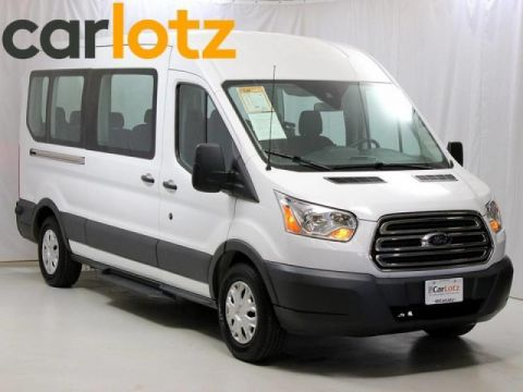 Pre-Owned 2016 Ford Transit Wagon T-350 Med Roof Slide XL