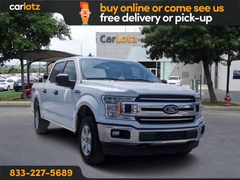 2019 Ford F-150 XLT 4WD 4WD SuperCrew 5.5' Box