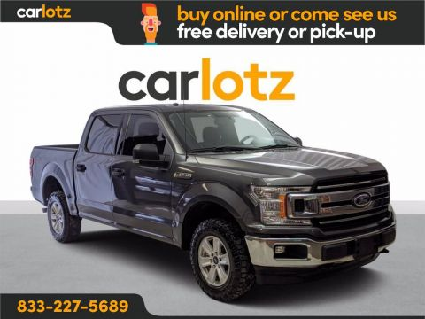 2018 Ford F-150 XLT 4WD 4WD SuperCrew 5.5' Box