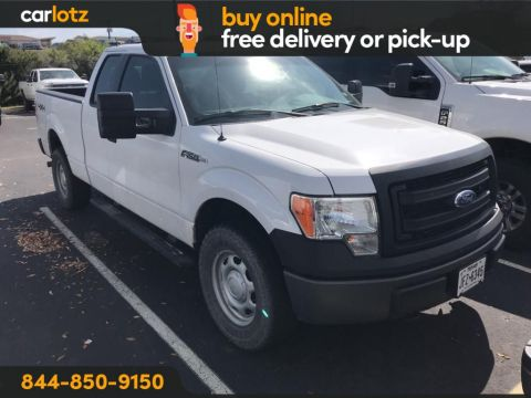 2013 Ford F-150 XL 4WD 4WD SuperCab 145