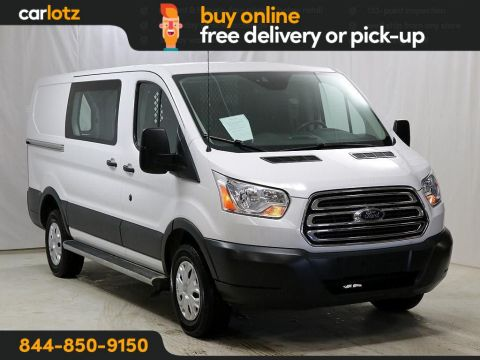 2018 Ford Transit Van T-250 Low Roof Slide Base RWD Mini-van, Cargo