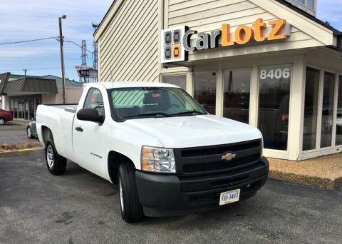 Pre-Owned 2011 Chevrolet Silverado 1500 Work Truck 2WD