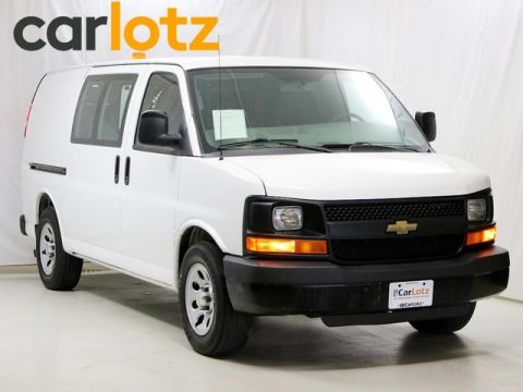 Pre-Owned 2012 Chevrolet Express Cargo Van Base