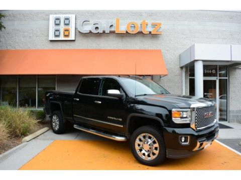 2015 GMC Sierra 2500 Denali With Navigation & 4WD