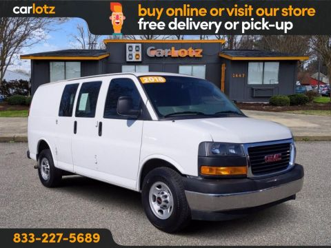 2018 GMC Savana 2500 Base RWD Full-size Cargo Van