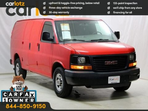 Pre-Owned 2014 GMC Savana 3500 Base