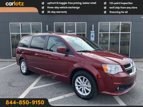 2019 Dodge Grand Caravan SXT FWD Mini-van, Passenger