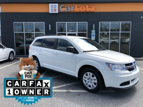 Pre-Owned 2017 Dodge Journey SE