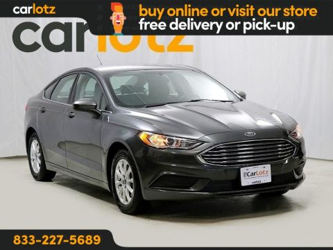 2017 Ford Fusion S FWD 4dr Car