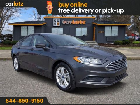 2018 Ford Fusion SE FWD 4dr Car