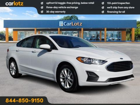 2019 Ford Fusion SE FWD 4dr Car