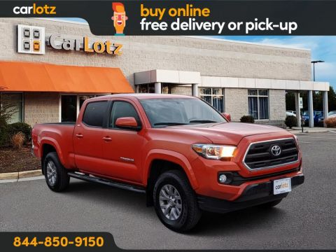 2017 Toyota Tacoma SR5 4WD Double Cab 6' Bed V6 4x4 AT (Natl)