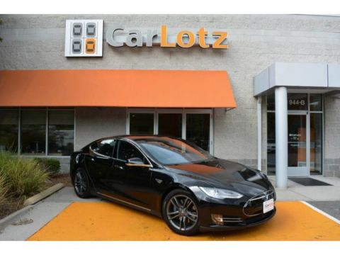2015 Tesla Model S 85D With Navigation & 4WD