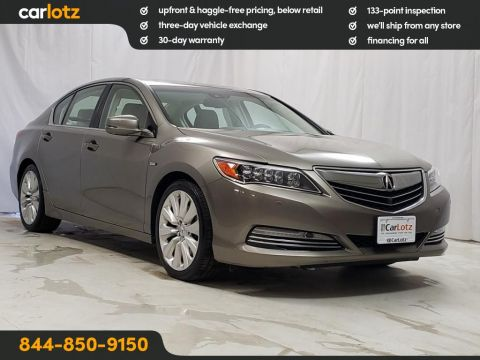 2016 Acura RLX Hybrid Advance Pkg AWD 4dr Car
