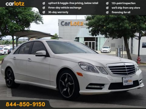 Pre-Owned 2013 Mercedes-Benz E-Class E350