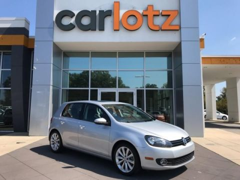 Pre-Owned 2014 Volkswagen Golf TDI w/Sunroof & Nav