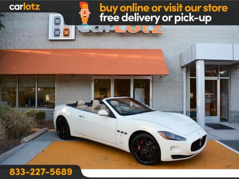 2012 Maserati GranTurismo North America specification S